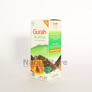 daun kelor untuk batu empedu, Herbal Gurah Al Afiat 125ml 60ml