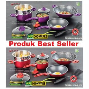 Pupuk Organik Cair Super Green, Supra Rosemary 9 Pcs Cookware Set Panci Set Serba Guna